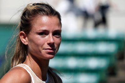 Camila Giorgi body measurements nose job facelift