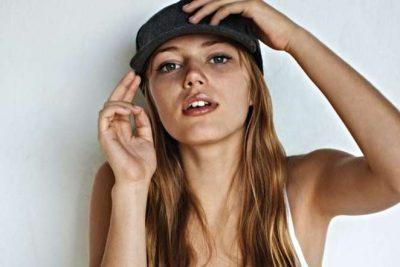 Grace Van Dien body measurements boob job botox