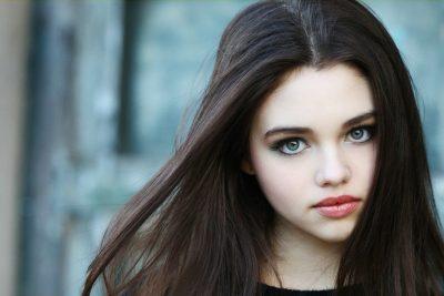 India Eisley lips botox nose job