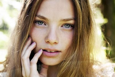Kristine Froseth lips facelift nose job