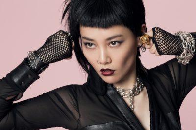 Rinko Kikuchi boob job botox body measurements