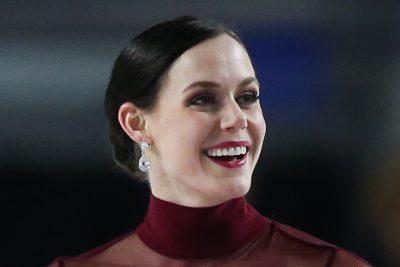 Tessa Virtue nose job body measurements botox